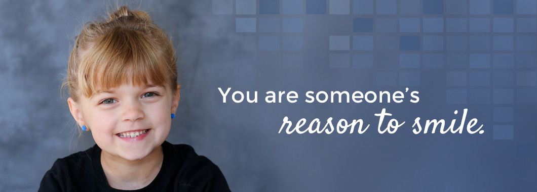 You are someone's reason to smile.