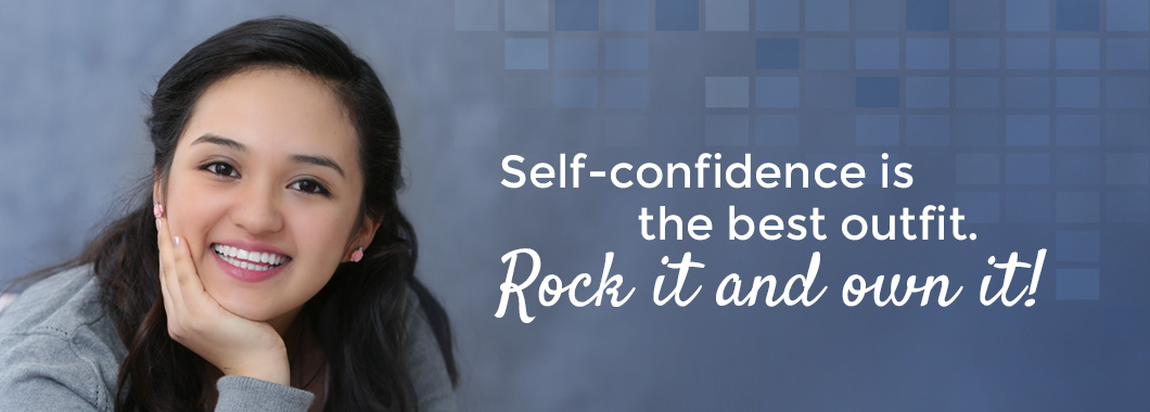 Self-confidence is the best outfit. Rock it and own it!